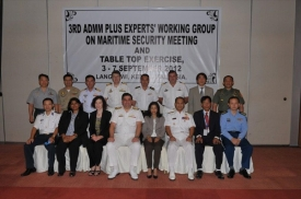 3rd ADMM-Plus EWG on MS and TTX, Langkawi, 3-7 September 2012