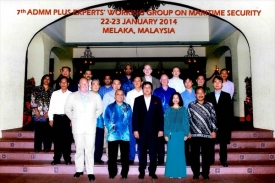 7th ADMM-Plus EWG on MS, Melaka, 23 January 2014