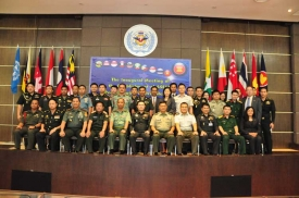 Inaugural Meeting of the Establishment of ASEAN Peacekeeping Centres Network, Bangkok, 4-7 September 2012